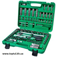 "Набор инструмента 1/4"" и 1/2"" 108ед. (6гр.) new box TOPTUL GCAI108R"