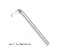 Ключ шестигранный Г-обр. 10мм (сталь SNCM+V)