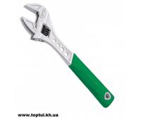 """Ключ разводной 10"""" - 256мм с обрезиненной ручкой AMAA3325"""