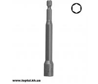 Головка на шуруповерт 8мм L100мм BEAB0808
