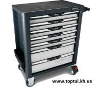 Тележка для инструмента (Pro-Plus) 7 секций (серая) TOPTUL TCAL0703