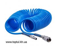 Шланг спиральный 5,5х8мм L=10м AHC46-B AIRKRAFT